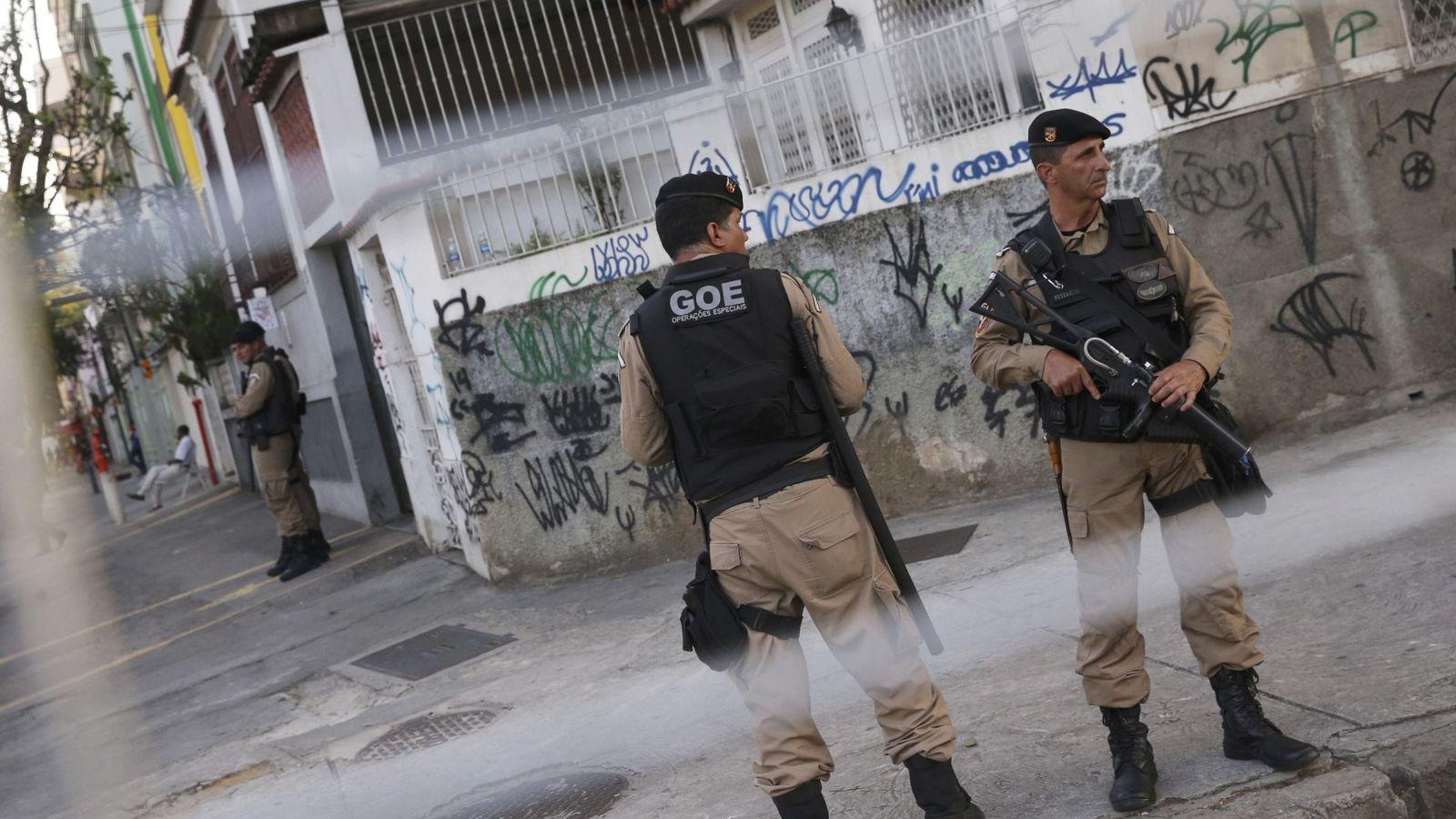 Foto: Las fuerzas de seguridad han plagado Río de Janeiro (Shannon Stapleton/Reuters).