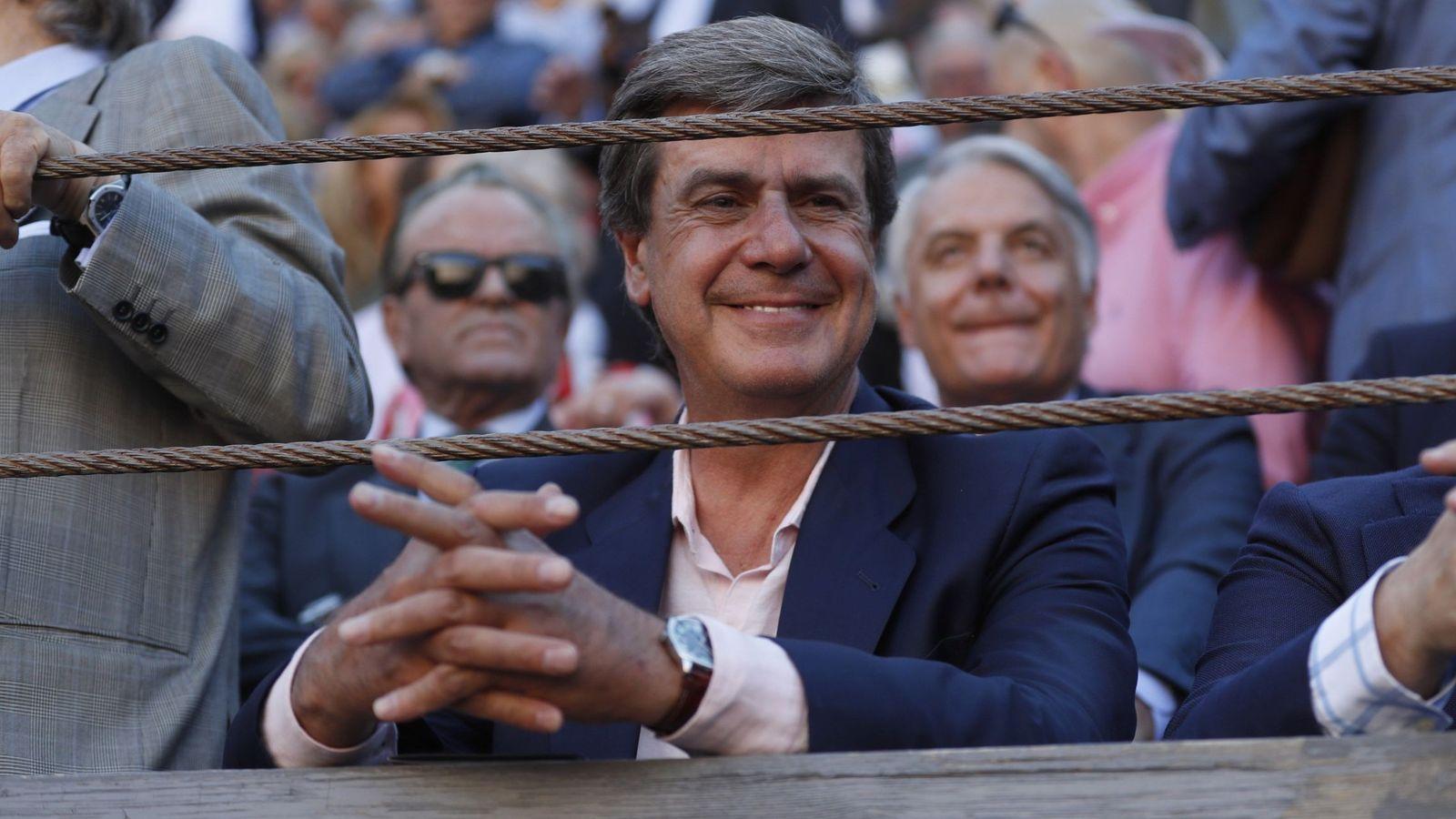 Foto: Cayetano Martínez de Irujo, en Las Ventas. (EFE)
