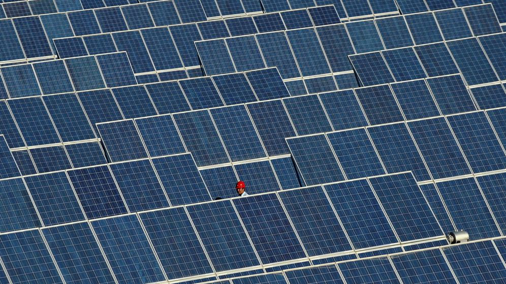 Foto: Un parque de energía fotovoltaica. (Reuters)
