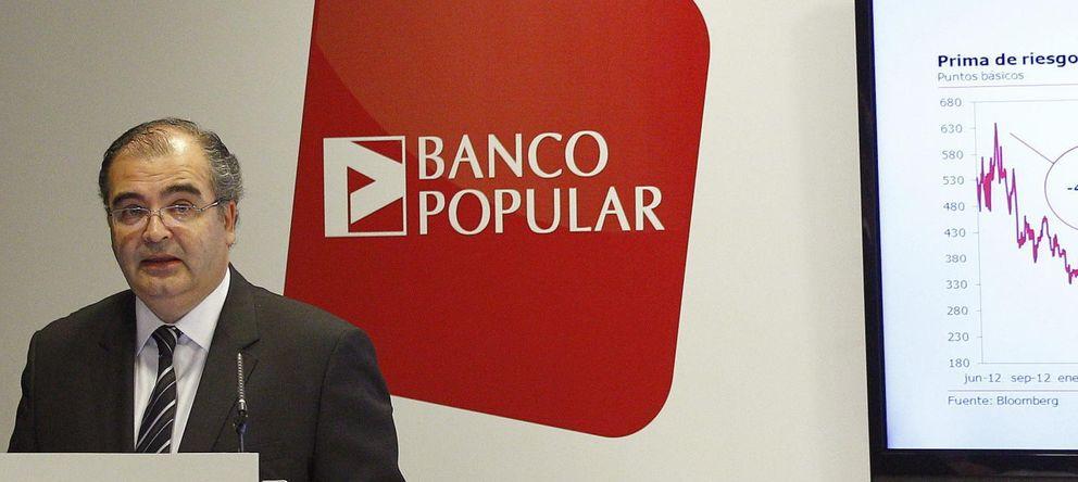 Foto: El presidente del Banco Popular, Ángel Ron (Efe)