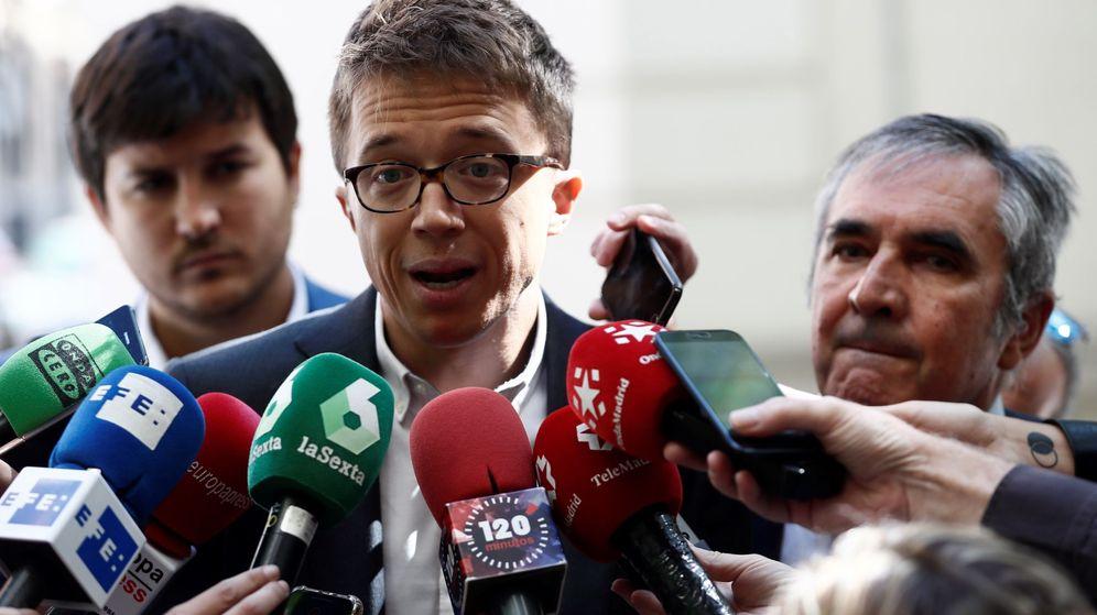 Foto: El portavoz de Más Madrid en la Asamblea de Madrid, Íñigo Errejón. (EFE)