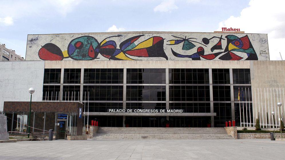 Foto: Fachada del Palacio de Congresos. (EFE)