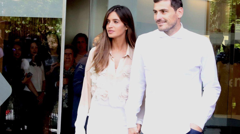 Sara Carbonero e Iker Casillas. (EFE)