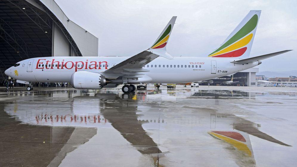 Foto: Un Boeing 737 de Ethiopian Airlines como el que sufrió el accidente