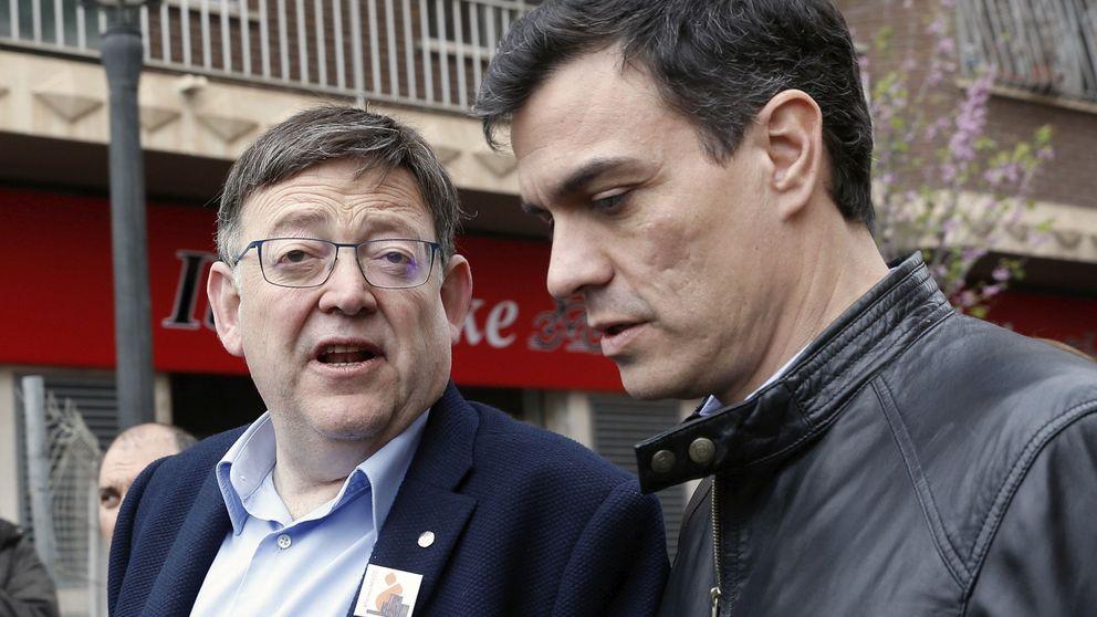 Sánchez aplaca la 'rebelión' de Puig, veta a Iglesias y respira ante el comité federal