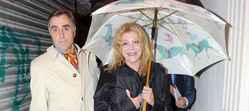 Foto: Tita Thyssen y Manuel Segura en una imagen de archivo (Gtres)
