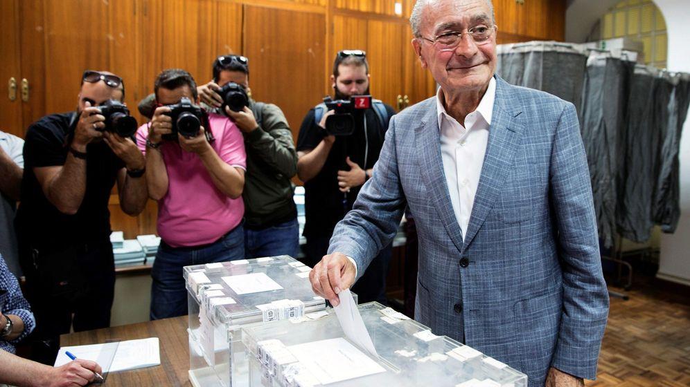 Foto: El alcalde de Málaga y candidato a la reelección, Francisco de la Torre. (EFE)