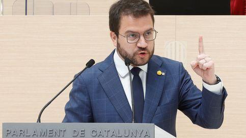 Aragonès sale humillado de la investidura mientras JxCAT sube el precio del pacto