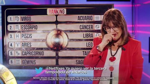 Esperanza Gracia promociona Netflix entre 'hijueputas' y el baile de 'The OA'