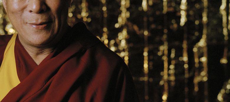 Foto: Tenzin Gyatso, decimocuarto Dalai Lama y ganador del Nobel de la Paz, escritor de un libro sobre la felicidad. (Corbis)