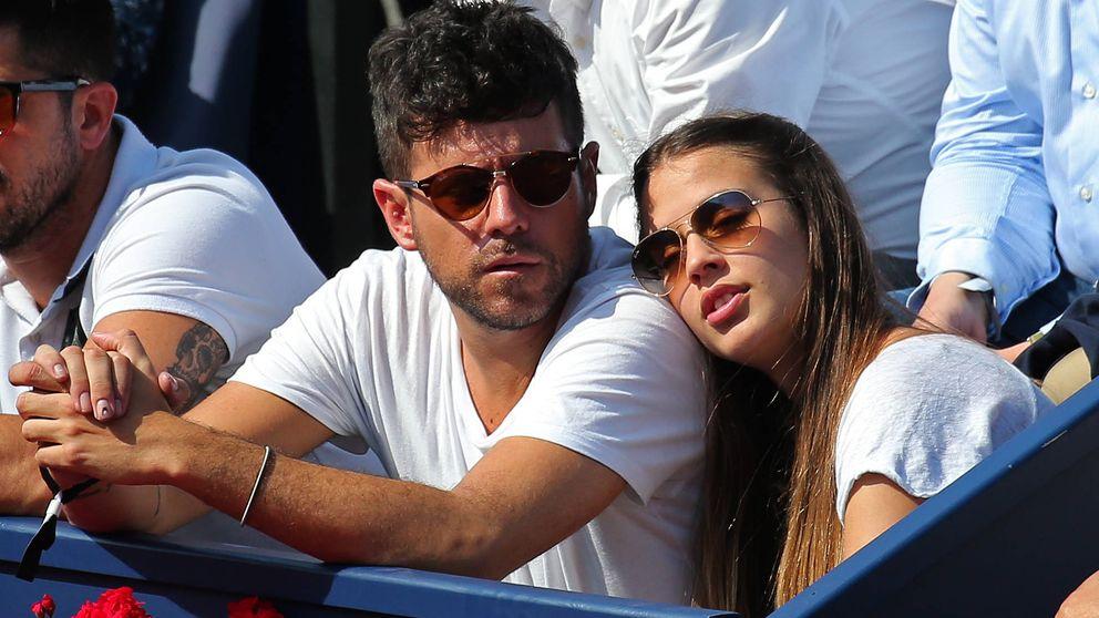 Pablo López y Claudia Nieto, dos novios enamorados en el Open de tenis