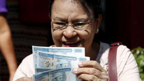 Nuevos billetes en Birmania con la efigie del padre de Suu Kyi