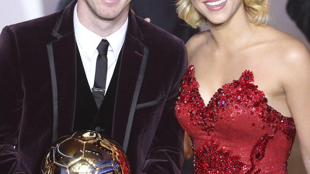 Foto: Messi y Shakira en una imagen de archivo. (Gtres)
