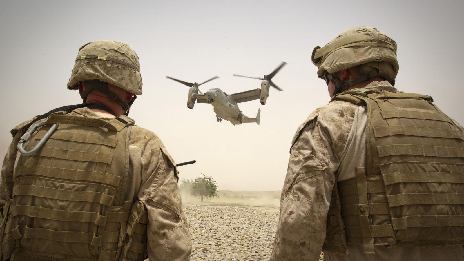 Resultado de imagen de Cientos de marines estadounidenses se han desplegado en Siria