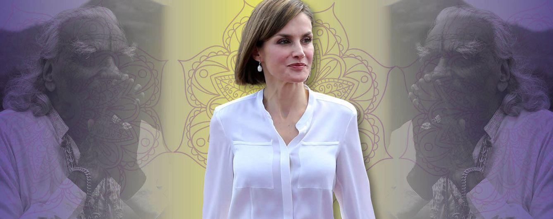 Foto: La Reina Doña Letizia en un fotomontaje realizado en Vanitatis