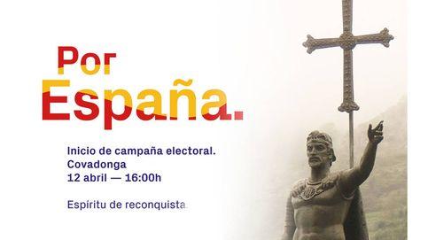 """Vox y la Reconquista en las elecciones: """"Don Pelayo era un tío con dos huevos"""""""