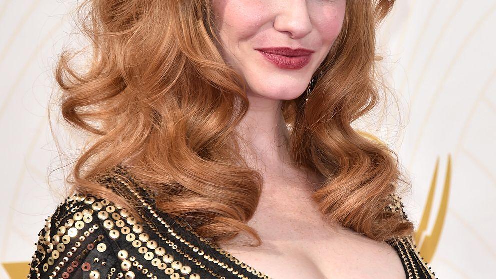 Belleza en los #Emmys2015: del escote de Christina Hendricks al falso bob de Claire Danes