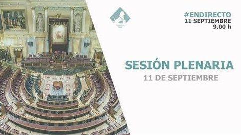 Siga en directo la primera sesión de control en el Congreso tras el fracaso de las negociaciones