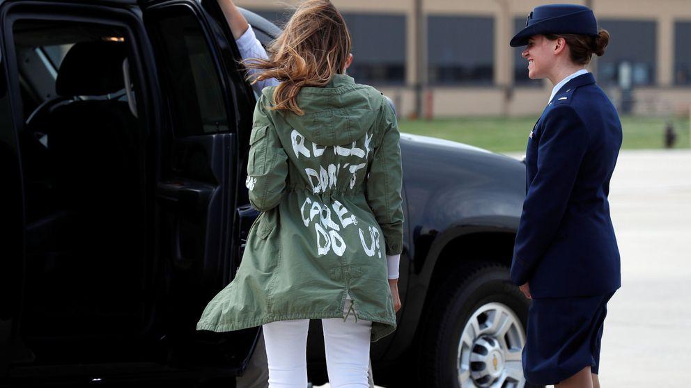 El desastre estilístico de Melania Trump: la lía con su primera parka de Zara