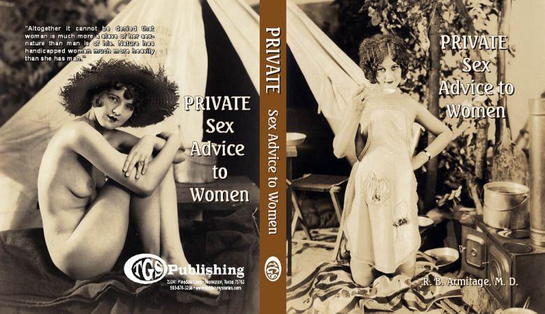 Cubierta de The Private Sex Advice to Woman.