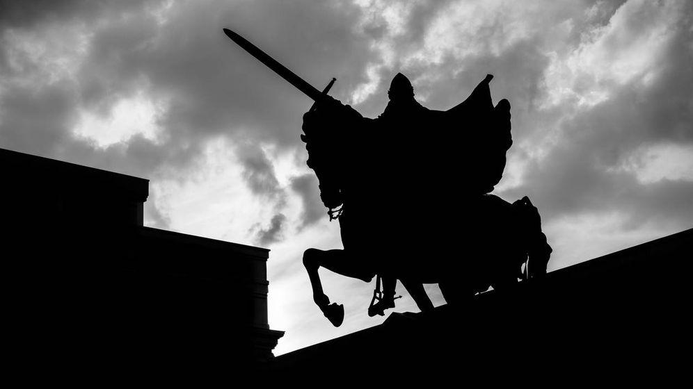 Foto: Estatua del Cid Campeador en Burgos. (iStock)