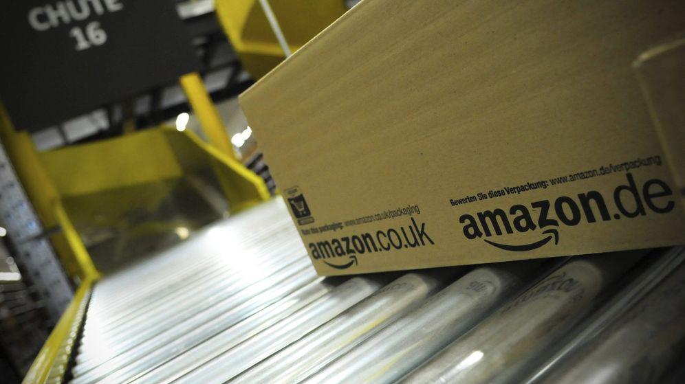 Foto: Centro logístico de Amazon en Briselang, Alemania (EFE)