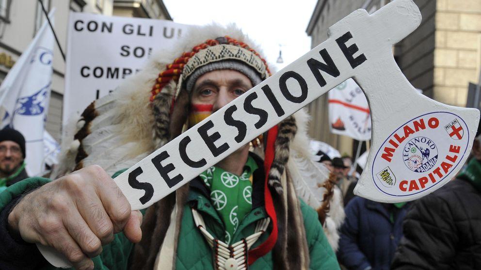 Roma nos roba: en Italia también hay independentistas
