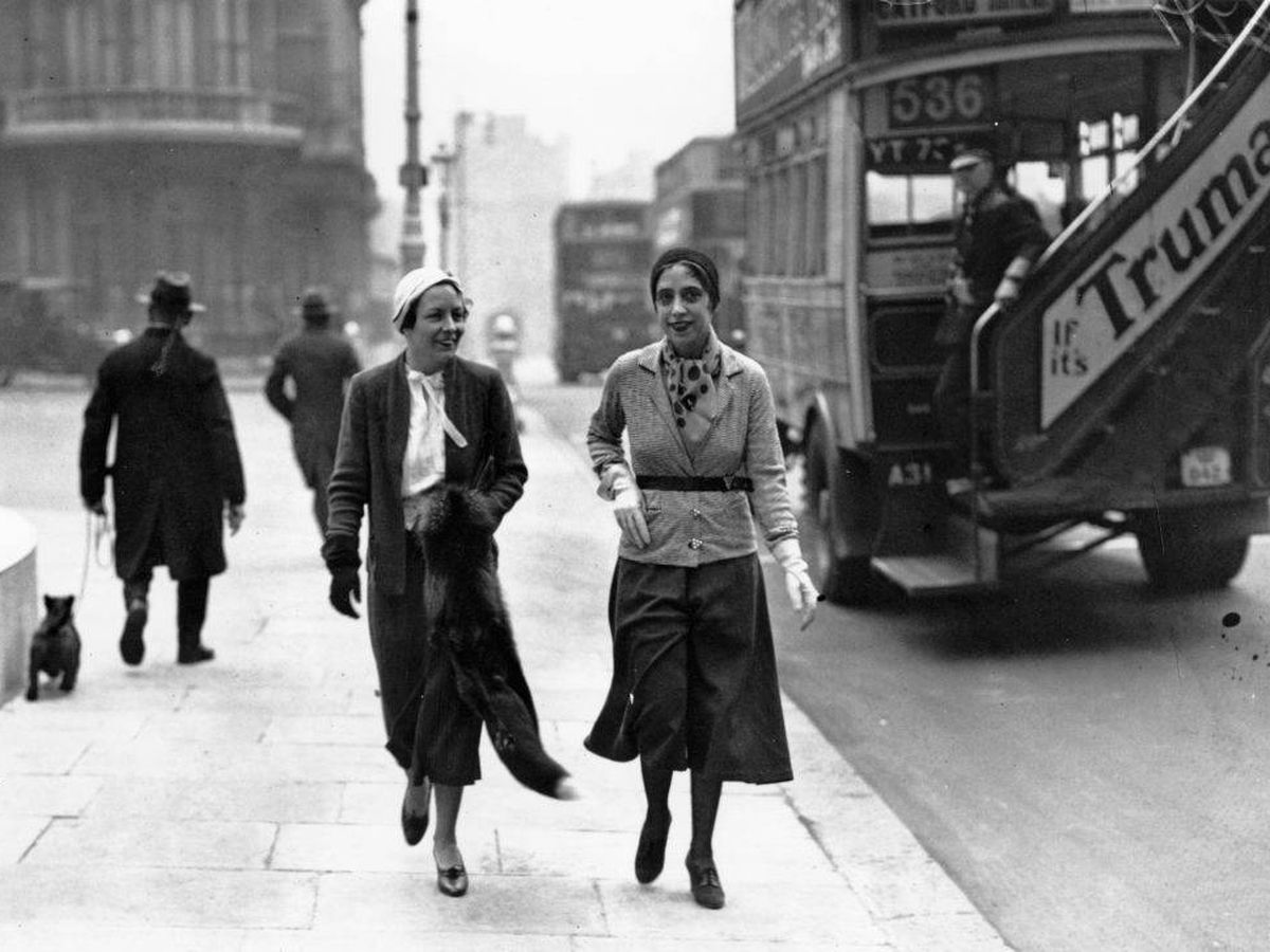 Foto: Elsa Schiaparelli, creadora de la falda pantalón en los años 30. (Getty)