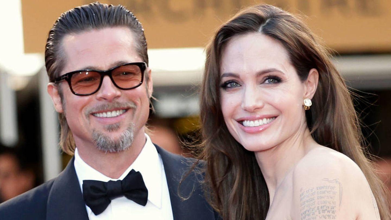 Brad Pitt y Angelina Jolie, en una imagen de 2011. (Getty)