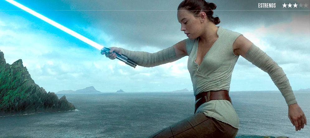 Foto: 'Star Wars: Los últimos Jedi'.