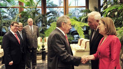 Castro recibe a Margallo y Pastor un año después que a Francia