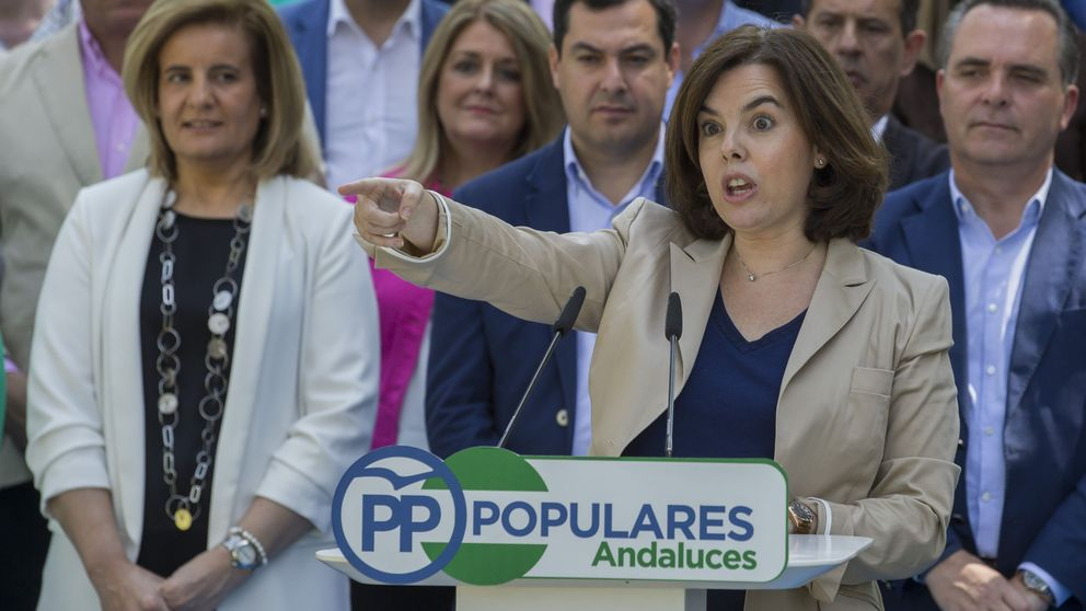 Operación Menina 2: Soraya vuelve para defender al PP en el feudo andaluz