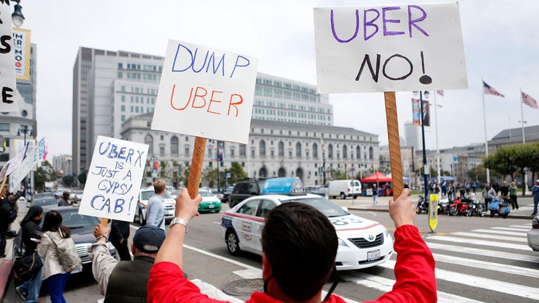 Las protestas contra Uber se producen en toda Europa