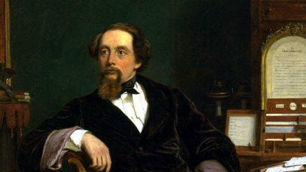 Foto: Charles Dickens, en un retrato de William Powell Frith. (Wikipedia)