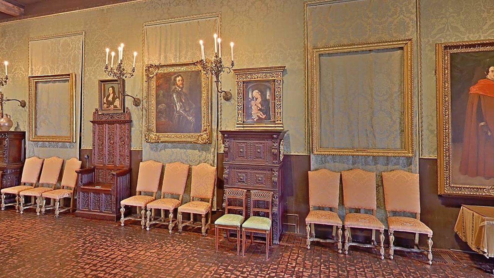 Foto: Imagen de una de las salas del museo de la que robaron dos cuadros. (CC)