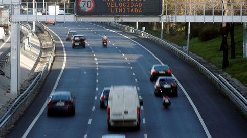 Este jueves continúa la limitación a 70 km/hora en la M-30 por contaminación
