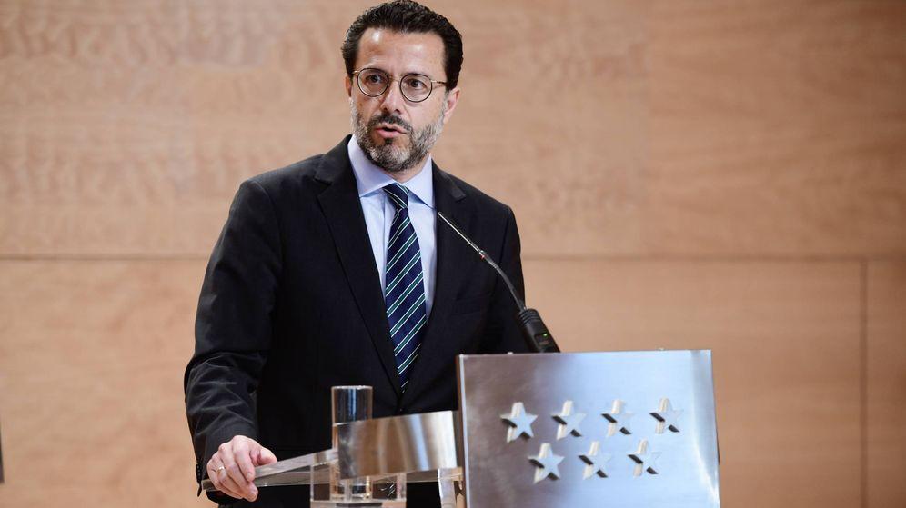Foto: El consejero de Hacienda, Javier Fernández-Lasquetty.