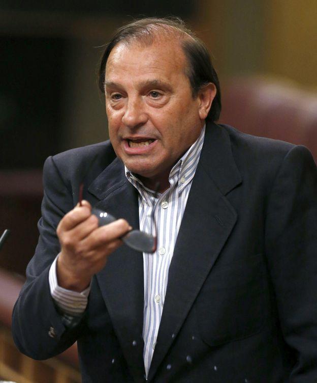 Foto: Vicente Martínez Pujalte, en el Congreso. (EFE)