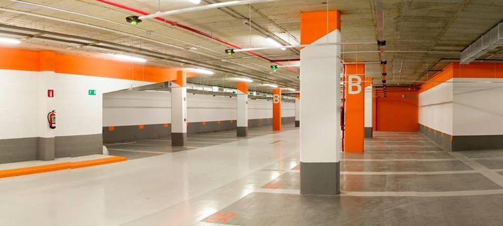 Foto: Imagen de unos aparcamientos de Empark