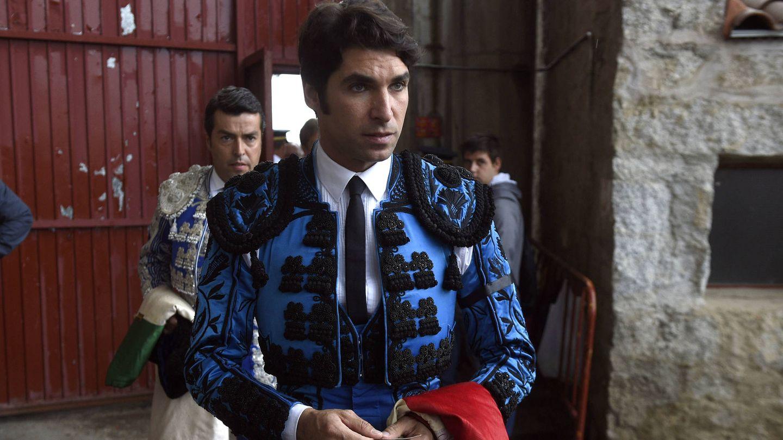 Cayetano Rivera durante la corrida. (Gtres)