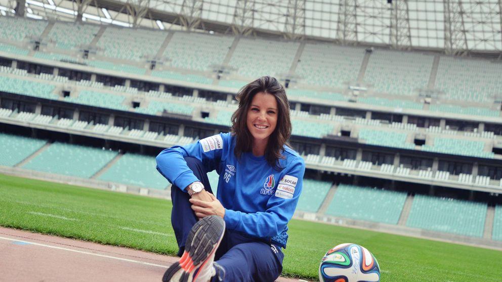 Patricia González se reivindica como entrenadora, algo que no existe