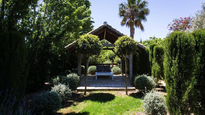 El bello y verde entorno de Casa La Siesta.