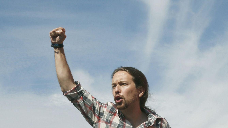 Foto: El secretario general de Podemos, Pablo Iglesias, durante su participación en un acto de campaña de la candidatura Catalunya Sí que es Pot. (Efe)