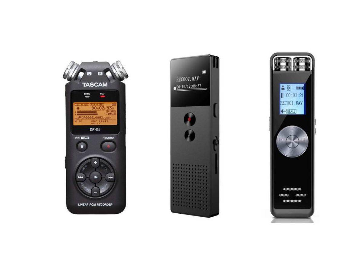 Foto: Los mejores dictáfonos para grabar tu voz