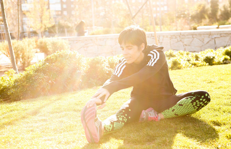 Foto: Cada 'runner' entrena cómo y cuándo quiere. Elena va a correr cuatro días a la semana durante una hora. (Isaac Cepero)