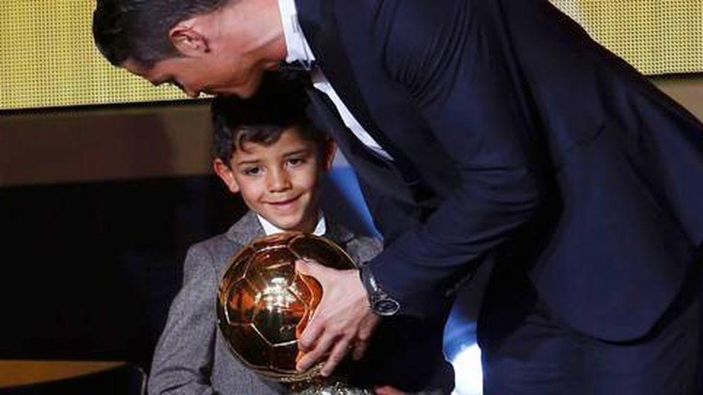 El hijo de Cristiano Ronaldo, fan de Messi