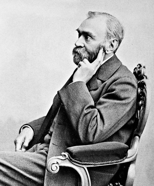 Foto: Alfred Nobel (Foto: Image Bank Sweden, Gösta Florman / The Royal Library)