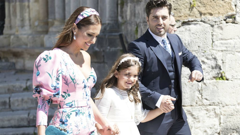Foto: Paula Echevarría y David Bustamante, en la comunión de su hija. (Cordon Press)