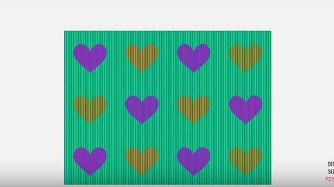 Reto viral: ¿de qué color ve los corazones que aparecen en la foto?