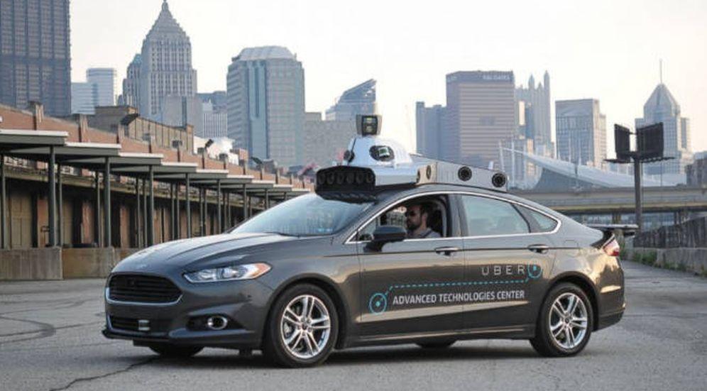Foto: El coche autónomo de Uber